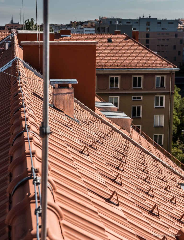 Střechy Pelán Brno - BD Klatovská/Šumavská